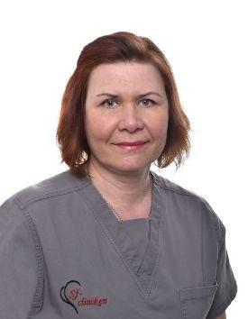 Mervi Trast - Leikkaus- ja anestesiahoitaja.