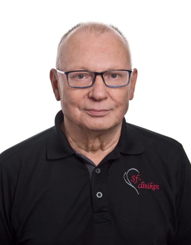 Ulf Hyvönen - Yleiskirurgian erikoislääkäri, terveydenhuollon palveluista vastaava johtaja.