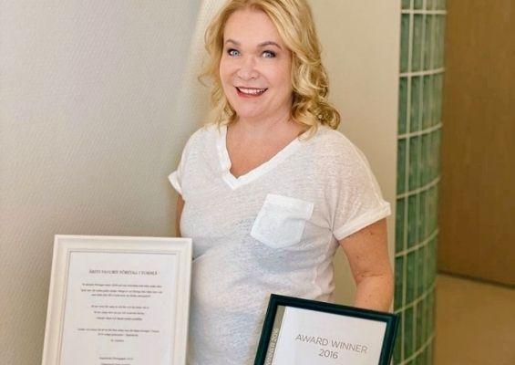 Jaana Saloniemi - Sf-clinikenin toimitusjohtaja on saanut useita kunniamainintoja.