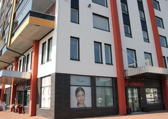 Sf-clinikenin tilat Torniossa kesällä.